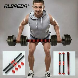 Environmental protection dumbbell rod universal pair grips lengthened 40/50CM