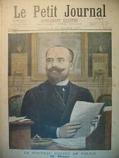 LE NOUVEAU PREFET DE POLICE M. BLANC BRETAGNE LA TOUSSAINT LE PETIT JOURNAL 1897