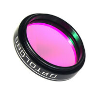 """1.25"""" 25nm O-III Filters for Telescope 1.25 inch Eyepiece Cuts Light Pollution"""