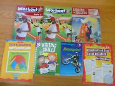 LOT OF 7 LEARNING GRADES 3-4 STEP INTO READING COACH WORKOUT SKILLS SCHOLASTIC