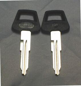 set 2 Uncut Blank Key Blade Land Rover Defender,British Leyland,Maserati Lotus