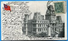 CPA Canada: CITY HALL - MONTREAL / 1904