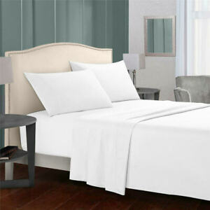Egyptian Comfort Soft 1800 Count 4 Piece Bed Sheet Set Deep Pocket Bed Sheets
