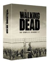 The WALKING DEAD COMPLETE SEASON 1-7 BOXSET 32 DISCS BLU RAY BOXSET AUS EXPRESS