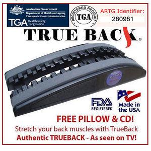 Genuine Trueback Australia Non-Powered Orthopedic Traction Device True Back USA
