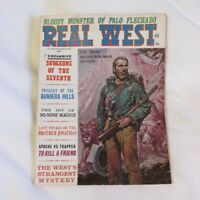 Real West Magazine, May 1967 bloody monster Palo Flechado NM New Mexico