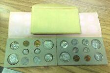 1957 US Double Mint Set, Brilliant Rainbow Toning Color