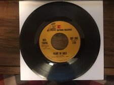 Heart Of Gold/Sugar Mountain/Neil Young/45 RPM/Reprise Records-1972