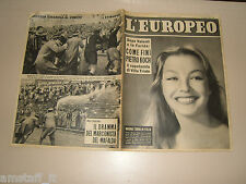 EUROPEO=1956/5=MARINA VLADY COVER MAGAZINE=NAVE MAFALDA=GIULIO PREZIOSO=