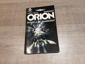 Von Perry Rhodan Autor H.Kneifel signierter  Raumschiff Orion TB Roman