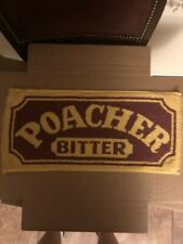 Bar Towel, Beer, Poacher Bitter, Good looking towel Great addition to collectors