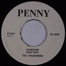 THE TRADEWINDS: Operator / All of That PENNY Calypso Reggae 45 Hear