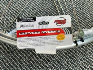 Planet Bike Cascadia Road Silver Fenders