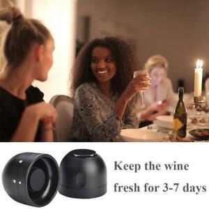 Vacuum Champagne Wine Bottle Stopper Sealer Cork Silicone Seal Plug Cap