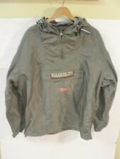 NAPAPIJRI GEOGRAPHIC Men Anorak Parka Coat Jacket Size sz mens L hiking trail