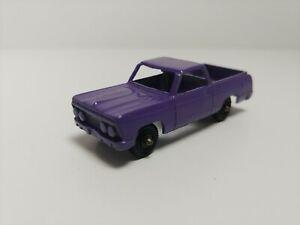 Vintage Tootsietoy Diecast Metal Red 1960 Chevrolet El Camino Toy Car
