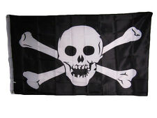 Jolly Roger Pirate Skull and Crossbones No Patch 3x5 Flag Banner indoor/outdoor