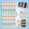 HTC One M7 M8 M9 Print Flip Wallet Case Cover Cool Pattern W134