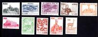 Peru 1959-60 set of stamps Mi#582-91 MNH CV=7.8€