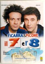 Dvd Il 7 e l'8 con Ficarra e Picone 2007 Nuovo