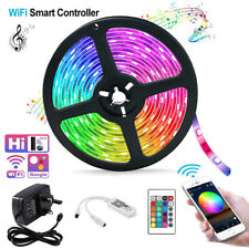 Wifi Smart LED Strip Light Color Changing Remote Control Alexa/Google 150/300LED