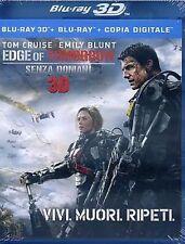 Blu Ray EDGE OF TOMORROW - SENZA DOMANI 3D - (Blu Ray 3D+Blu Ray) ....NUOVO