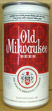 OLD MILWAUKEE BEER 10oz CAN Schlitz Longview TEXAS 7cty