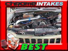 K&N+BLUE RED 04 05 06 07 08-12 JEEP LIBERTY 3.7 3.7L V6 COLD AIR INTAKE KIT 2