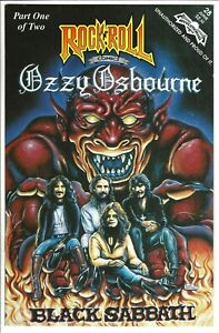 "Rock N'  Roll Comics #28 (1994)  VG-VG/FN  2nd Printing  ""Ozzy Osbourne"""