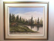 Old Oil Painting Signed By ( Jean Roland Taillefer ) 1994