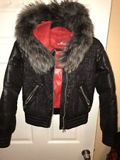 Snowimage Warm Winter Jacket With fur Size XS