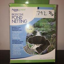 AQUASCAPE PROTECTIVE POND NETTING 7' X 9'