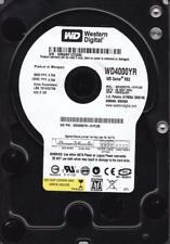 """WD4000YR-01PLB0  DCM: HBHCAJAH sn: WMAM.. WD 400GB 3,5""""  SATA  B4-4"""