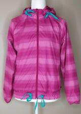 Merrell Women's Windbreaker Stripe Hoodie Full Zip Lightweight Jacket Size XS/TP