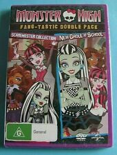 MONSTER HIGH Scaremester Collection / New Ghoul at School DVD NEW *see below*