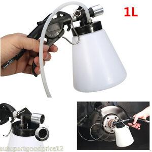 Car Brake System Fluid Oil Bleeder Hydraulic 90-120PSI Air Pneumatic Vacuum Tool