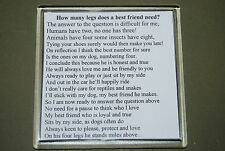 Dog Lover coaster - Describe a friend - 10% gift to The Border Collie Trust GB