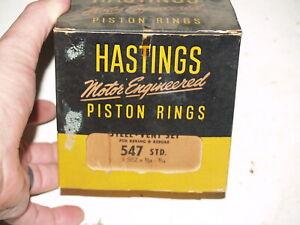 Hastings 2C6880030 4-Cylinder Piston Ring Set