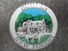 Burley New Forest Pin Badge Button Souvenir Tourist (L3B)