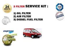 FOR PEUGEOT EXPERT 1.9TD 9/96-2000 NEW OIL AIR FUEL FILTER SERVICE KIT