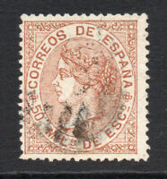 Spain 50 Cent Stamp c1867-68 Fine Used (1116)