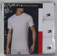 Tommy Hilfiger 3 pack White Classic Crew Neck T-shirts Tee NWT