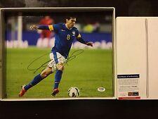 Ricardo KaKa Signed Brasil Brazil 11x14 Photo PSA DNA COA Autographed a