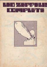 ORIGINAL Led Zeppelin Complete Sheet Music Book 1973 Superhype Publishing