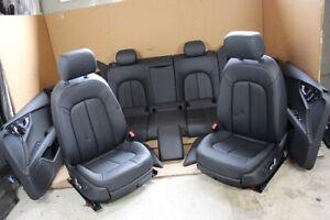 Audi A7 4G 4G8 Sportback Interior Seats Leather Door Panel Black 2