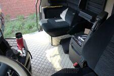 LKW Fußmatten für MERCEDES ACTROS MP4 Kunstleder Solostar mit Sitzsockel -Beige