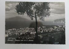 Vintage post card Postcard - Sorrento Italy - View to Mt Vesuvius 1950's