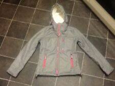 Ladies SUPERDRY Windtrekker Hip Length Hooded Jacket/Coat , size Small ,8-10 UK
