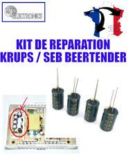 Kit de réparation tireuse à bière KRUPS / SEB Condensateurs / Capacitor LOW ESR