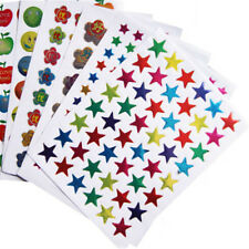 10pcs Notebook Stickers Funny Paper Lable Classic Laptop Sticker Kids Gift To HY